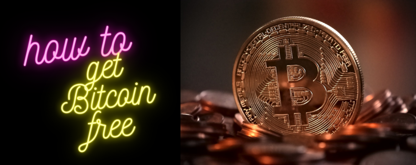 How to get Bitcoin Free without investment